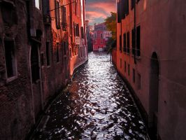 Venice in red by Doroty86