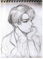 Rivaille WIP by Jeageractive