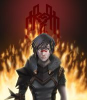 The Champion of Kirkwall by kuro-art