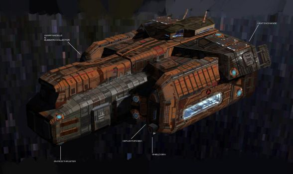 Tuvan Class concept render 02 by ARGHouse