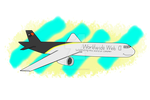 Windy the 767 (Request Art) by 0-Acerlot-0