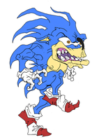 Run Sonic Run by Cannibal-Cartoonist