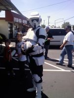Scout Trooper at FCBD by The-Animeniac
