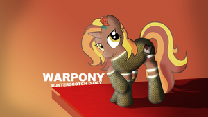 Butterscotch D-Day by Elalition