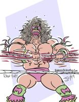 Ultimate Warrior by Jon David Guerra by JonDavidGuerra