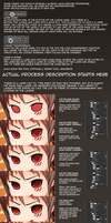 Photoshop Anime Style Eye Colouring Process by ThePhozz