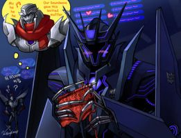 TFP - Soundwave by GoddessMechanic