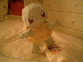 Squirtle Papercraft by PrincessStacie