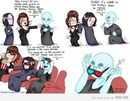 Voldemort and 3D TV by Pictavienne