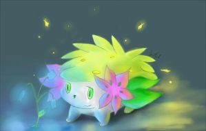 Shaymin by purpleninfy
