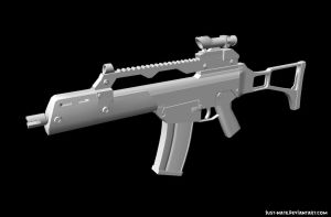 G36C Game Model by just-Nate