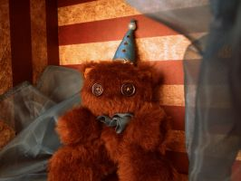 Vintage Circus Bear by ThisisHalloweenTown