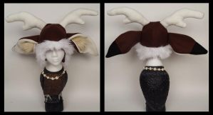 Deer Hat by Mermade4u