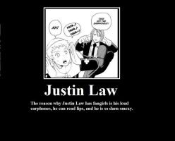 Justin Law Poster by ramenwings