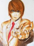 Light Yagami Death Note by Mercedes-Cortez