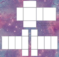 Pastel Galaxy ROBLOX Pants/Shirt Template *Fixed by 92044