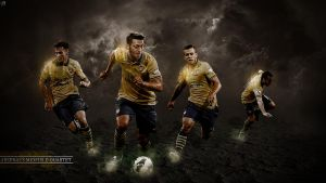 388. Arsenal's Midfield Qartet by RGB7