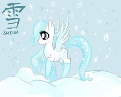 Snowy Breeze by GeekPony