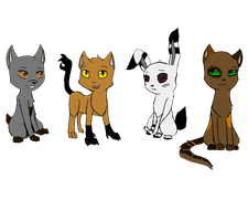 3 Nightmares and a Cat by SparkyChan23