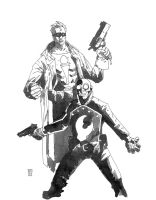 LOBSTER JOHNSON AND THE TORCH OF LIBERTY by future-parker