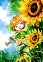 + Sunflower Fairy + by Ephirel