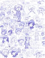 SP: School Pen Sketches by ocean0413