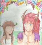 .:Legend of Mana - Matilda x Irwin by princessdaisy09