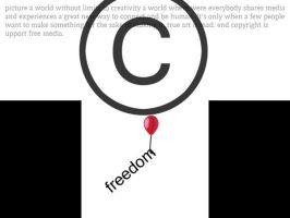 copyright isn't freedom by Alleluja64