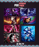 loqysha PSD Pack 3 by loqysha