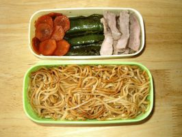 Leftover Bento by hayleywarner