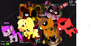 MLP Five Nights At Freddys by Fluttersweet456