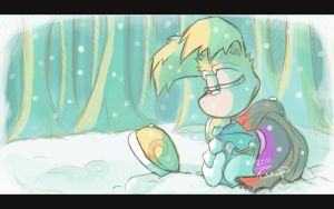 Snow forest - remake by Tulidragon