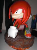 Knuckles statue :) by SweBJ