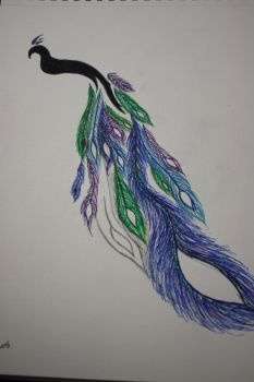 (unfinished) Blue, Purple, Green, and Black by jesusfreak995