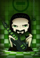 Peter Steele by liransz
