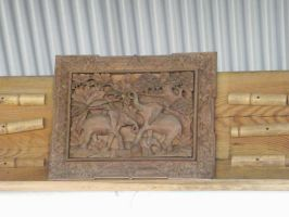 Wood carving by mousey57