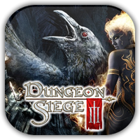 Dungeon Siege III Game Icon by Wolfangraul
