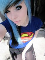 superman emo scene girl by IraVampira88