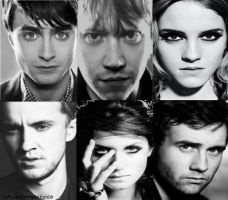 Harry Potter Cast by sectumsempra95