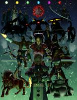 Final Fantasy VII by HarryBuddhaPalm