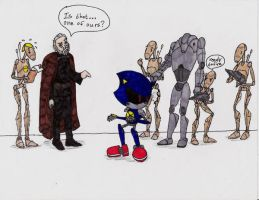 Sonic and Star Wars Collide 2 by CyberneticDragon