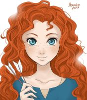 Merida - Legende der Highlands by Maneodra