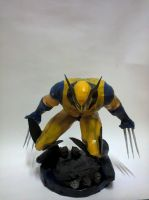 Wolverine Papercraft by erinasution
