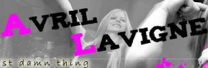 Avril Lavigne Banner by bellapester