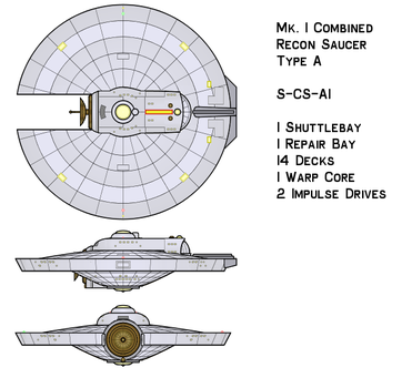 Combined Recon Saucer by hgfggg