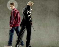 Draco and Harry - Supernatural by madhutter