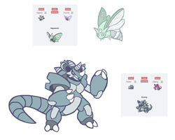 PokeFusions set3 by Noland005
