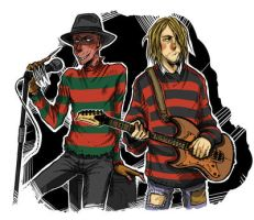 -kurt cobein freddy- by Sattara