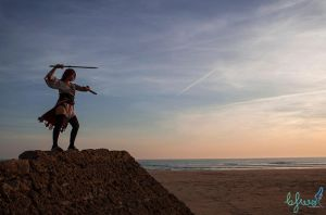 Training till the sunset by emeilian