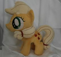 Filly Applejack Plushie [SOLD] by Uminohoshi